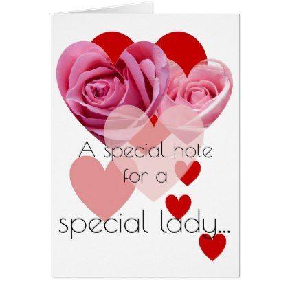 Rose Hearts Valentine Card - Saint Valentine\'s Day gift idea ...