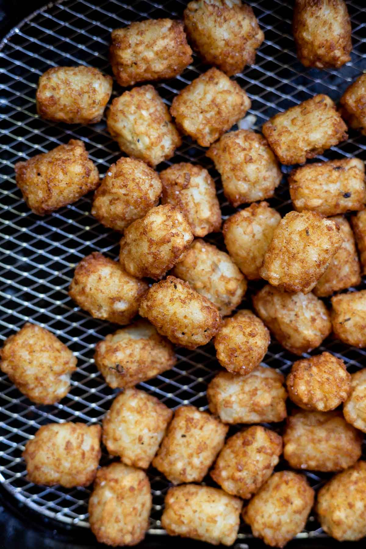 Want perfect tater tots with a crispy outer crust? Make