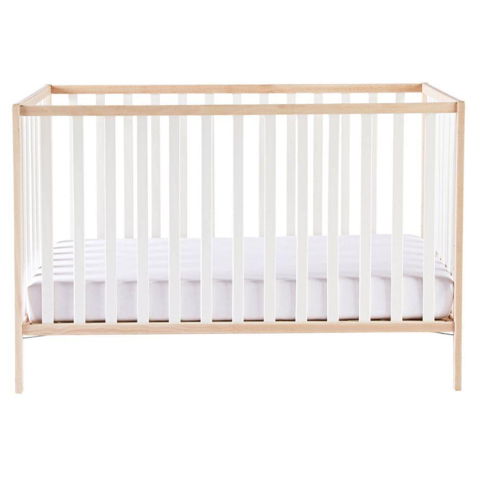 Poppy Cot 60x120cm White Nursery
