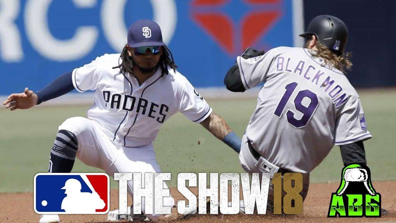 San Diego Padres Colorado Rockies Come See My Yt Channel Mlbtheshow18 Mlbtheshow Mlb Mlb18 Baseball Alwa San Diego Padres Mlb The Show Colorado Rockies