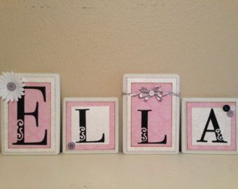 Popular items for baby name letter hanging wall on Etsy | Newborn ...