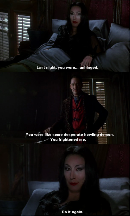 Gomez and Morticia (Addam's Family) So strange, and yet so