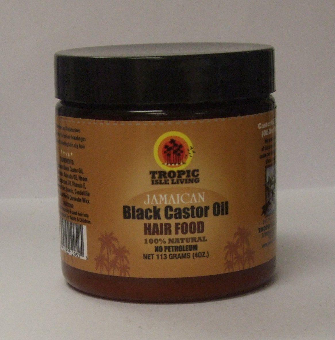 Tropic isle jamaican black castor oil hair food ounce you can
