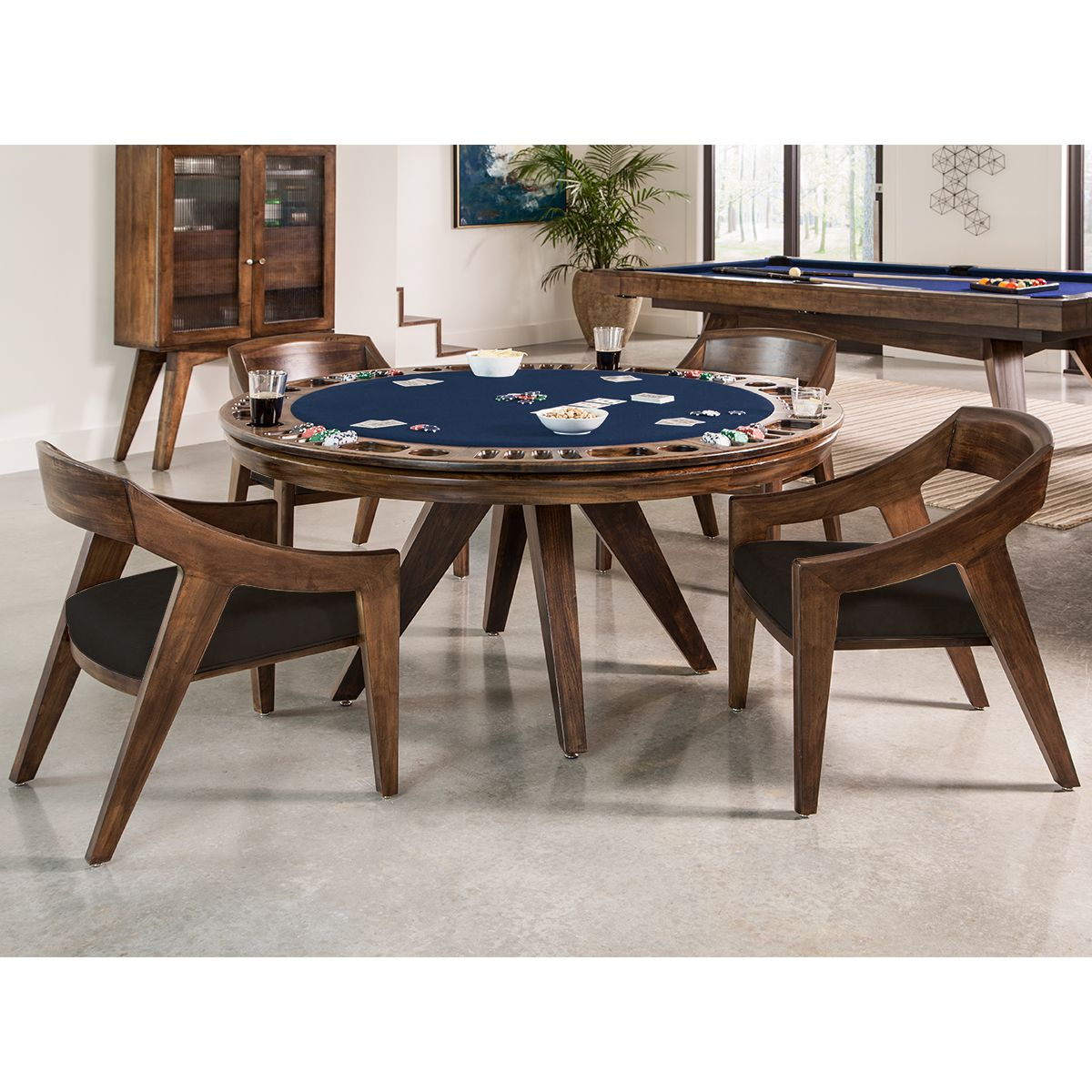 Oslo Reversible Poker Table Poker Table Game Room Tables Table
