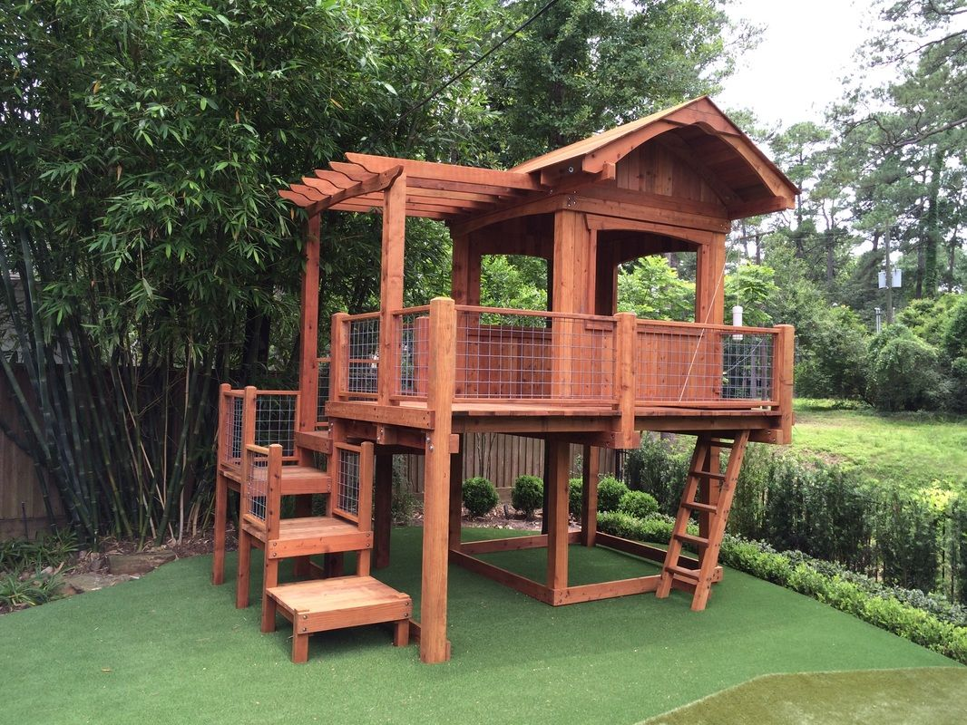 Offering Custom Redwood and Cedar Playsets and Swing Sets ...