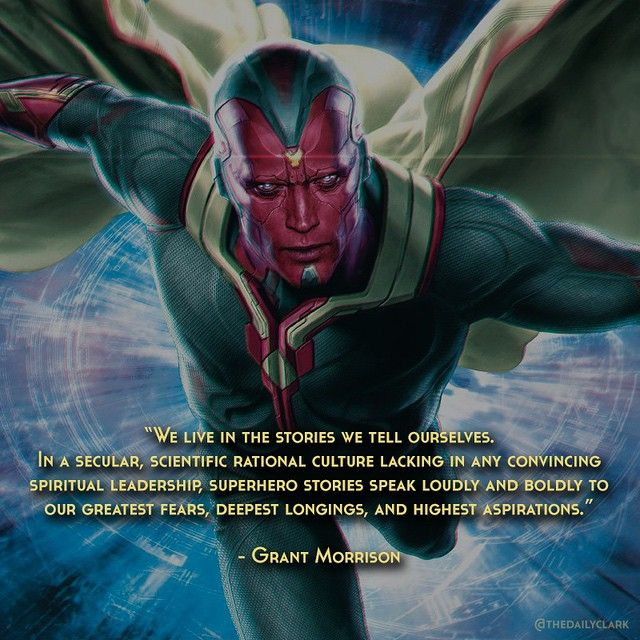 VISION QUOTES MARVEL image quotes at relatably.com
