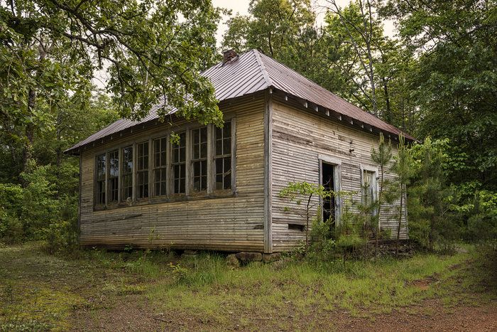 Snow Lick School House by linda henderson on Capture Arkansas // The old school house on our mountain