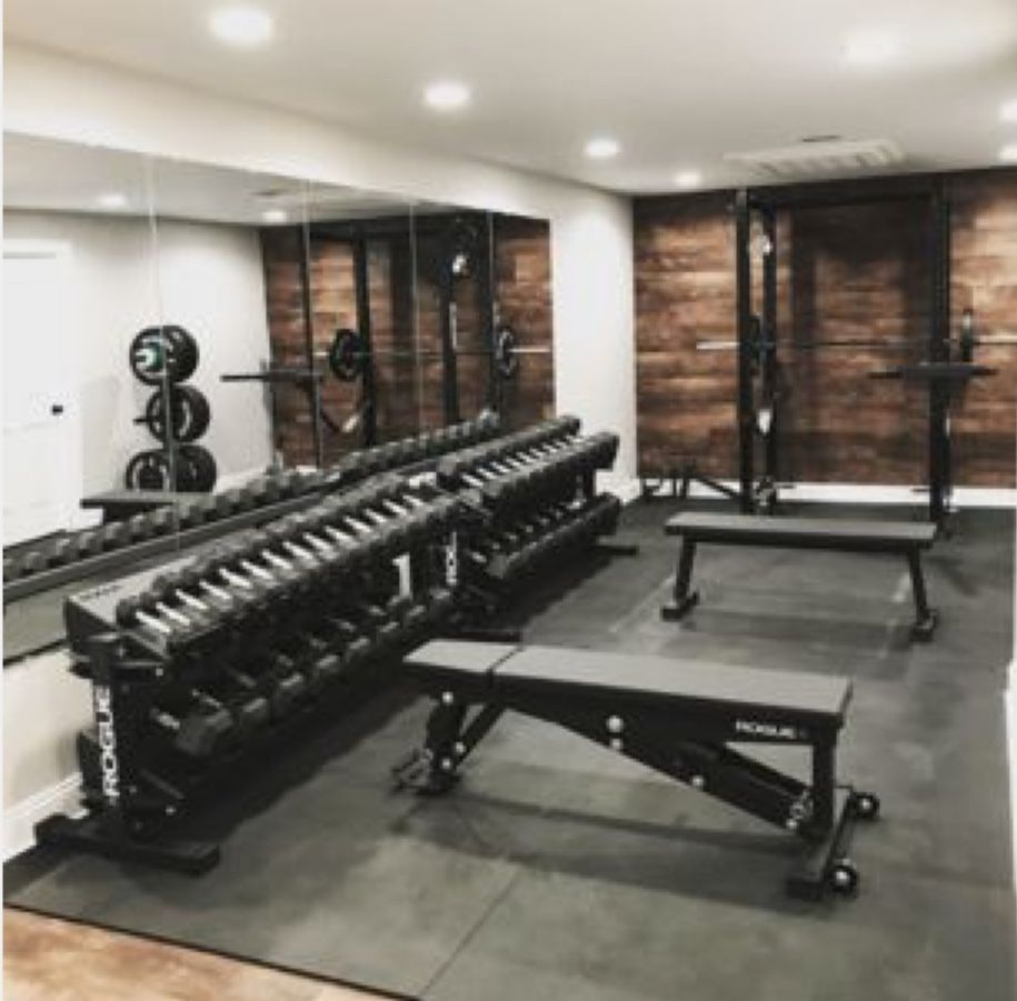 Home Gym Gym Room At Home Home Gym Basement Home Gym Decor