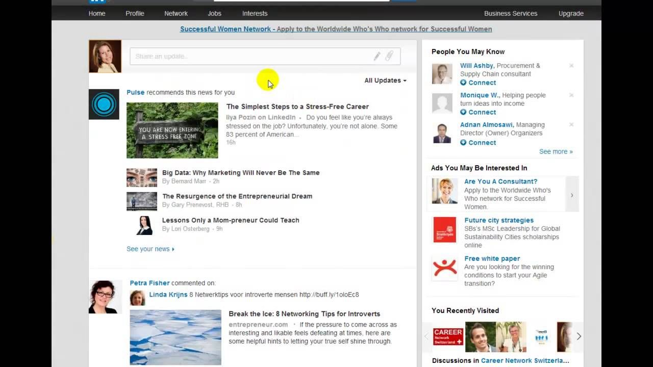 LinkedIn Changed Recent Updates to Top Updates