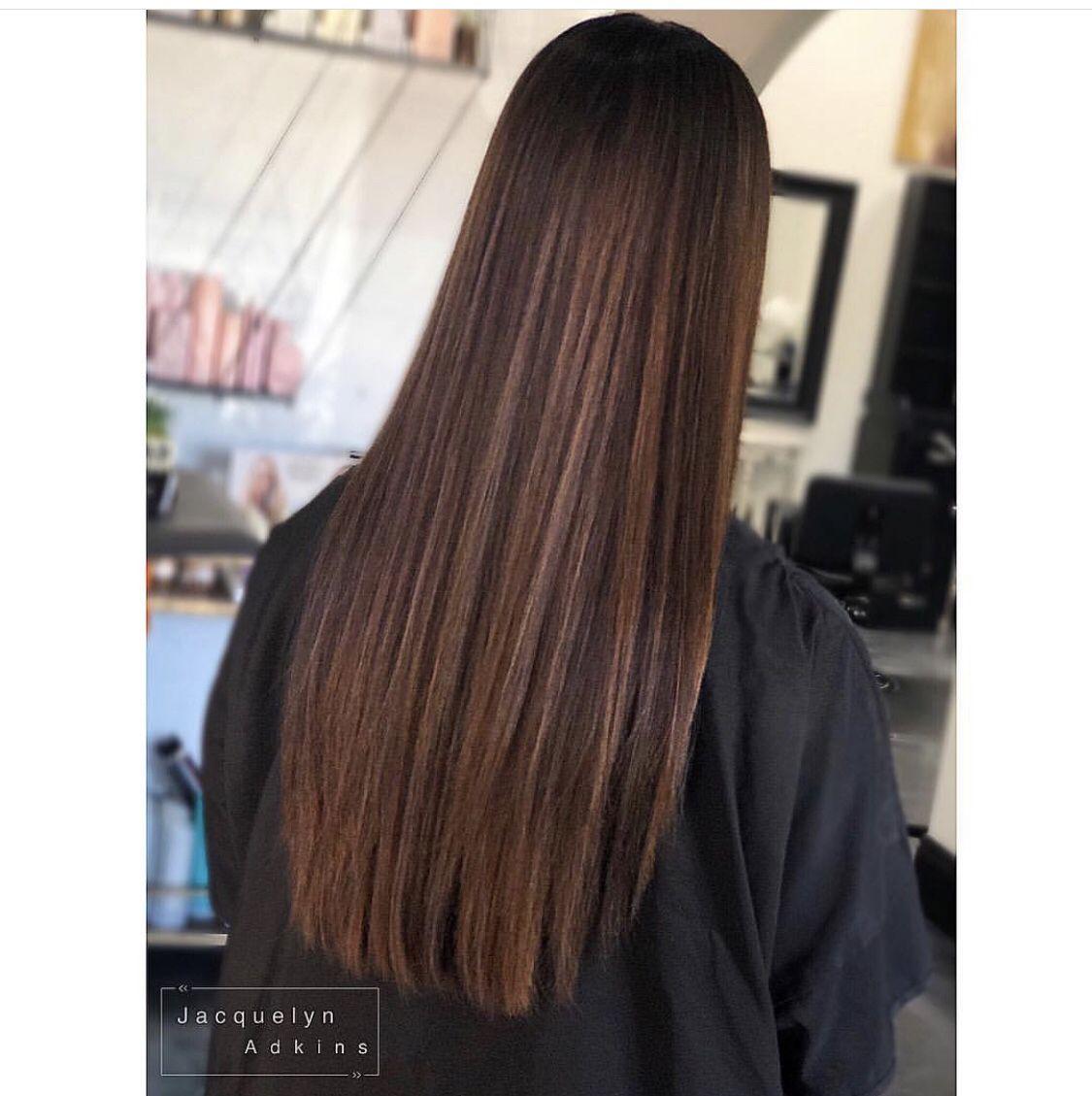 Follow My Instagram Unevneib Brown Hair Rooted Brown Natural Look Natural Brown Shadow Root Natural Brown Hair Brown Straight Hair Sleek Hairstyles