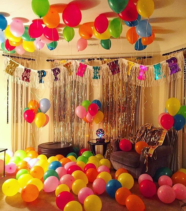 Happy Birthday Parties Birthdays Coco Fennell Photo Also Party Decorations At Home Decoration Ideas Rh