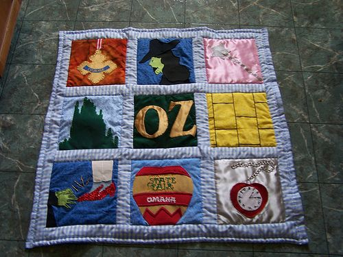 Wizard of OZ Quilt | Nursery, Babies and Wicked : quilts by the oz - Adamdwight.com