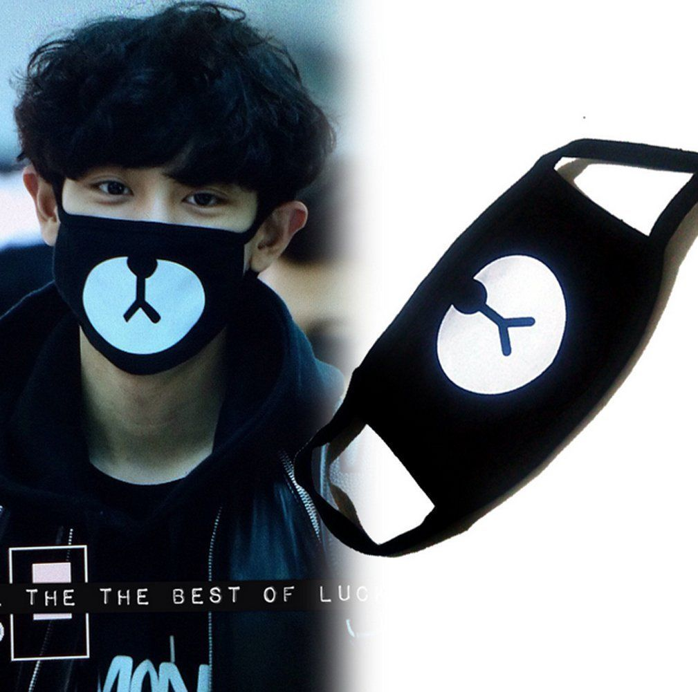 Want Korean Celebrity Mask Like Your Favourite Celebrity Urso Preto Bts Roupas Urso