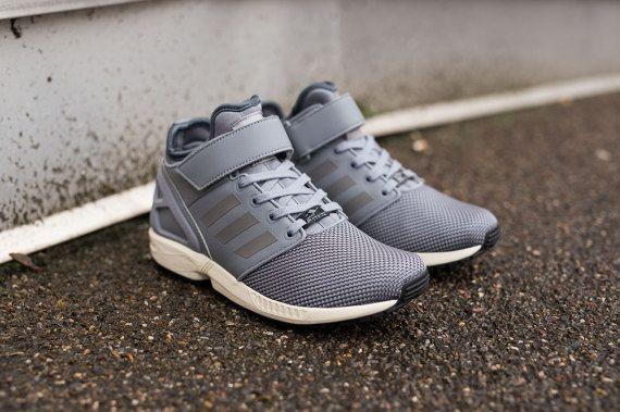Adidas Zx Flux Nps Mid Grey Light Onix