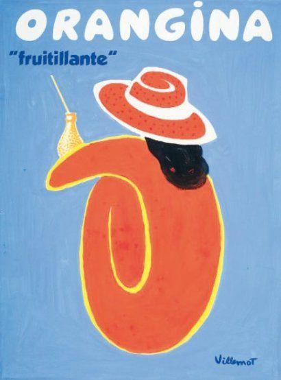 "BERNARD VILLEMOT (1911-1989), ""Orangina fruitillante"""