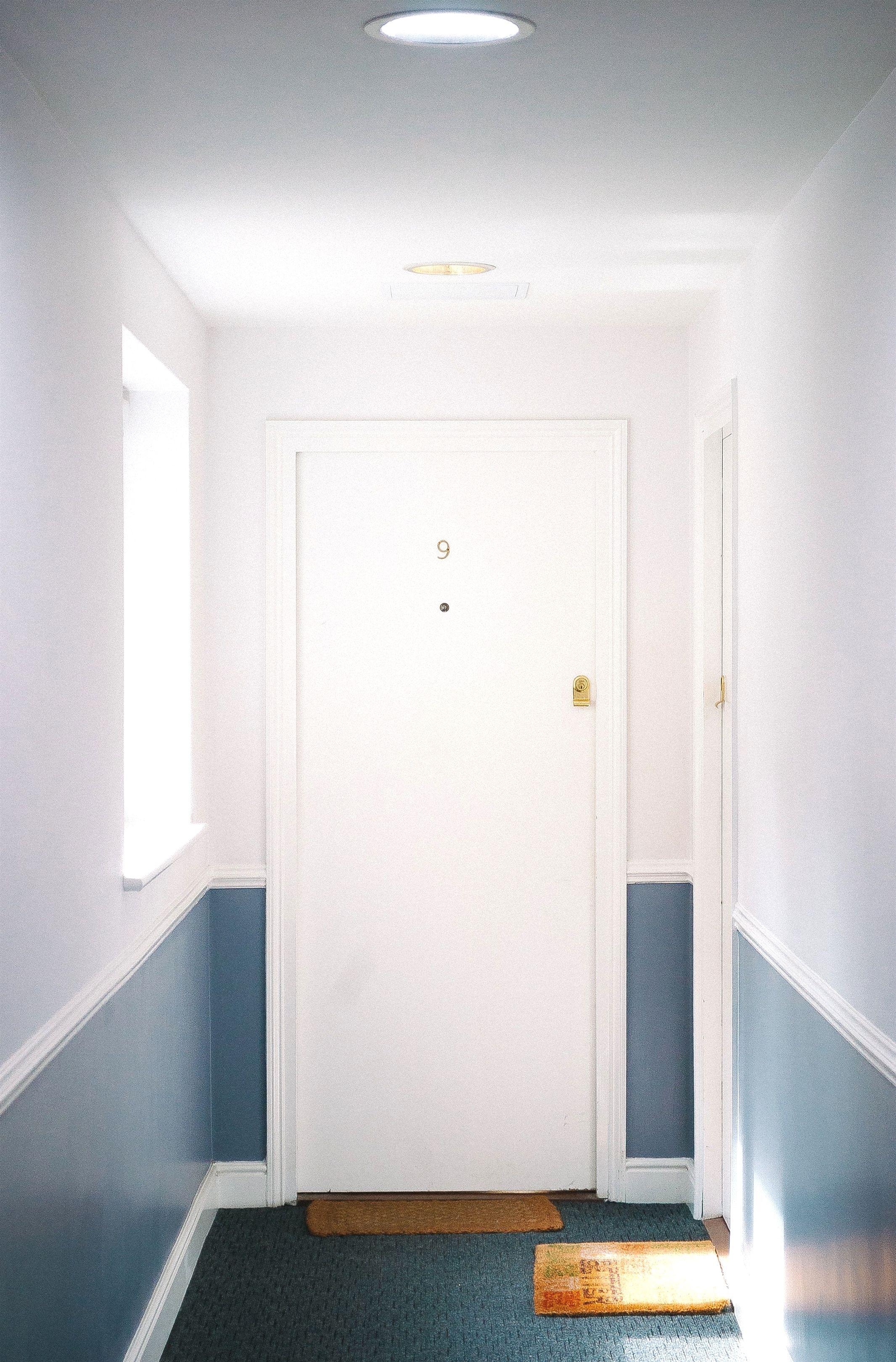 Yosemite Home Decor Blue Wall Clock 3018 20191102152139 62