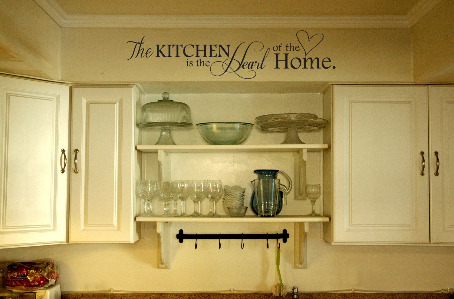41x12 Kitchen Wall Decal Sticker The Kitchen Is by JetmakDesigns ...