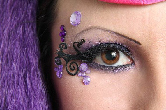 EYELINER EXTENSIONS 2-BATS by HilarysVanity on Etsy