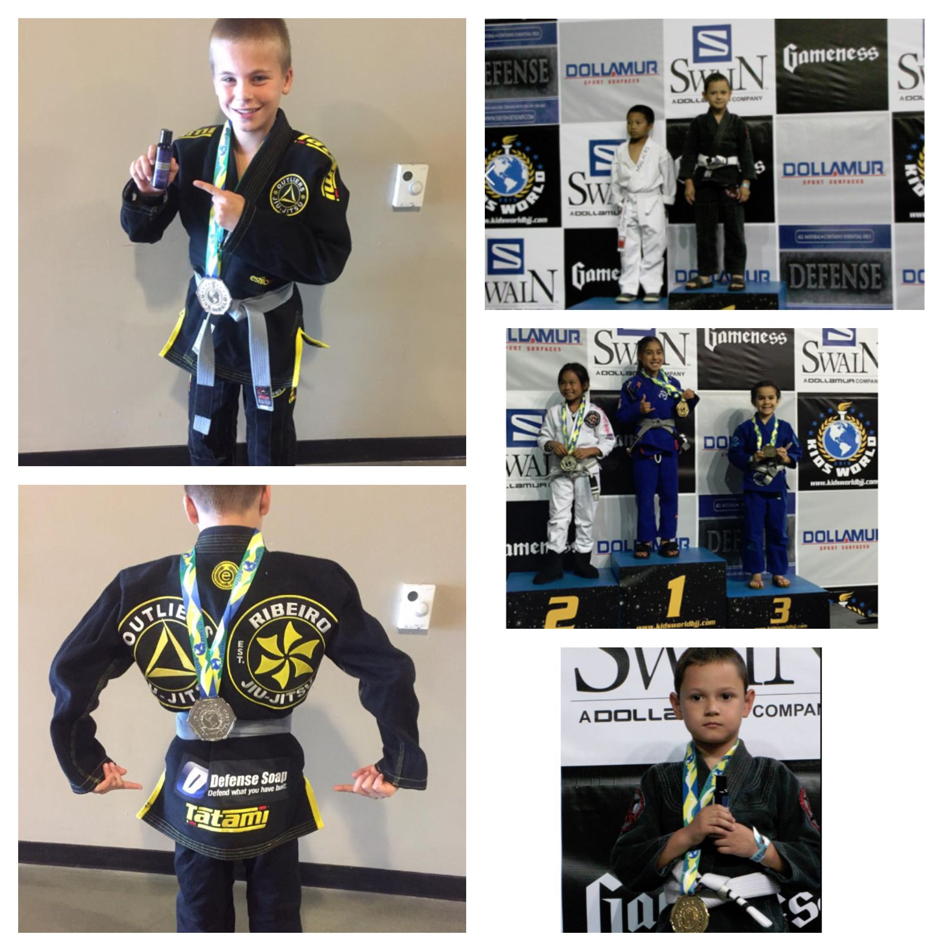 Pictures from the Kids World BJJ Tournament helped sponsored by