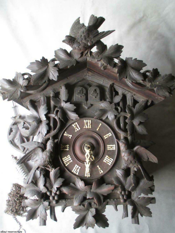 Antique Spotlight Cuckoo Clocks Cuckoo Clock Antique Spotlight