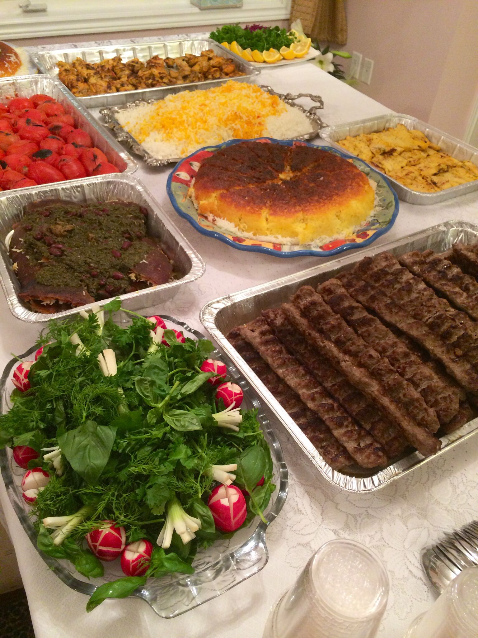 Persian dinner table All Things Persian Pinterest