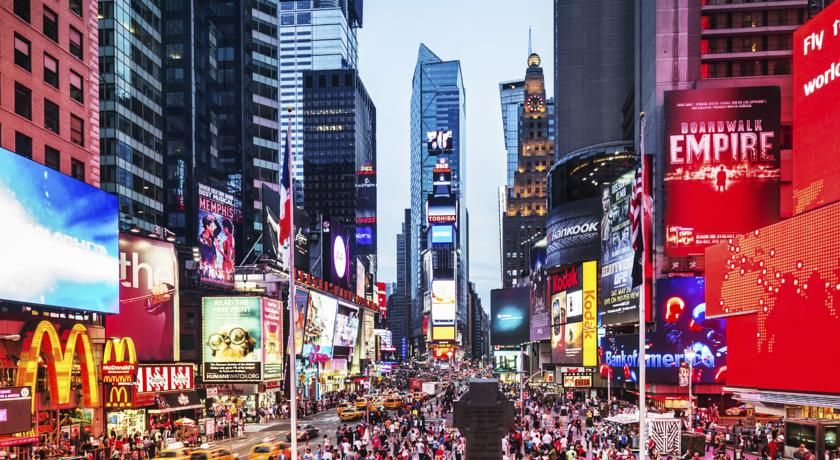 Featuring Free Wifi Throughout The Property Paramount Times Square Offers Accommodations In New York City Just 328 Yards From