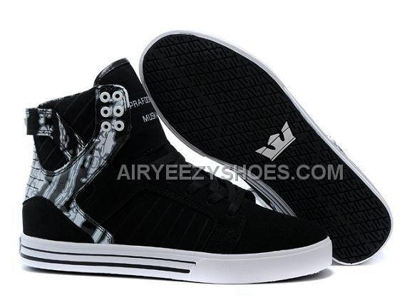 Online Supra Skytop Black White Shoes Men's Shoes, Price: - Air Jordan Shoes,  New Jordan Shoes, Michael Jordan Shoes