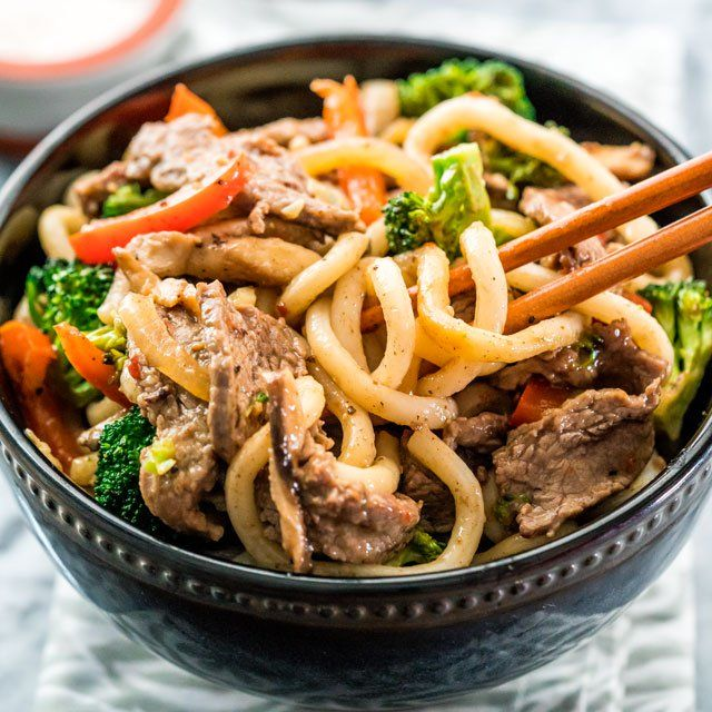 Beef broccoli noodle stir fry recipe stir fry broccoli and noodle beef broccoli noodle stir fry asian foodsasian recipeschinese forumfinder Images