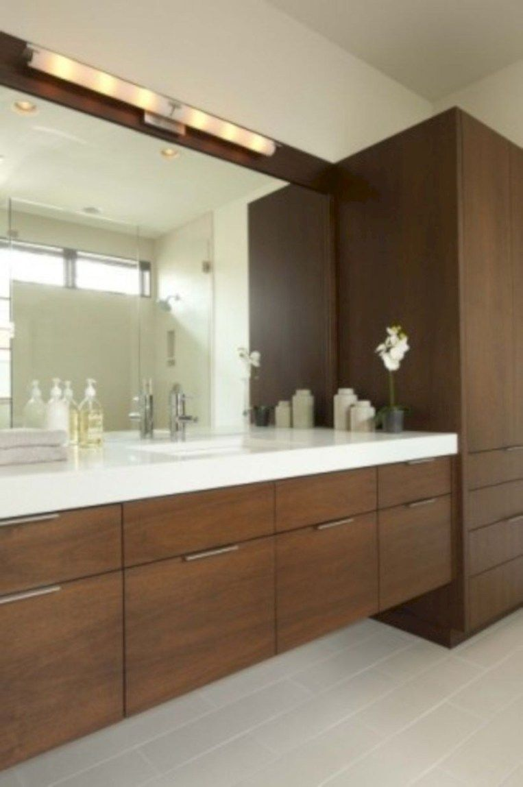 Modern And Contemporary Tall Cabinets Ideas 54 Modern Bathroom