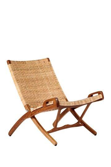 Mid Century Classics From Control Brand Vilhelm Folding Chair Hautelook Rattan Outdoor Furniture Rattan Patio Furniture Teak Patio Furniture