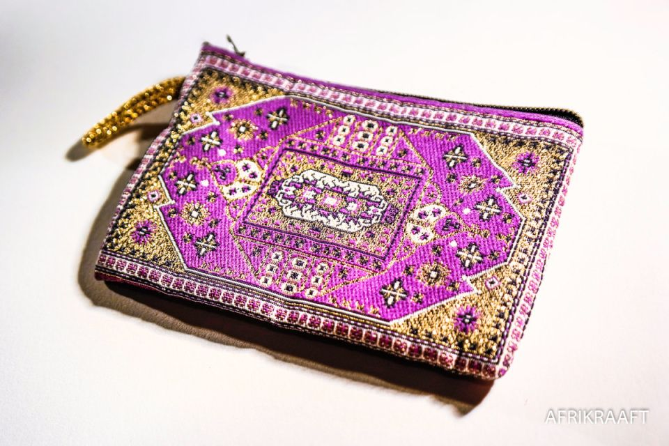 Embroidered wallet gypsy - AFRIKRAAFT