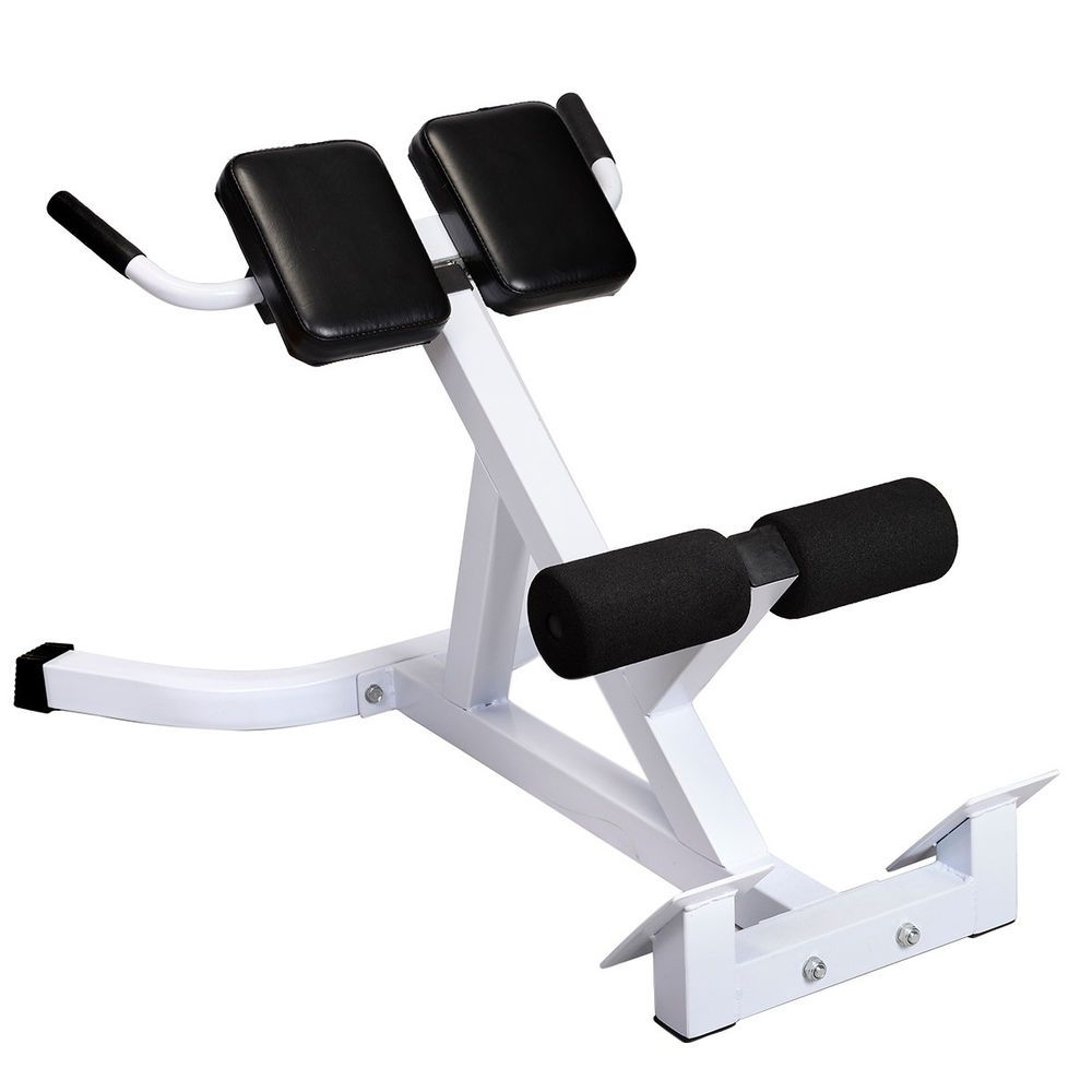 hyper extension hyperextension back exercise ab bench gym