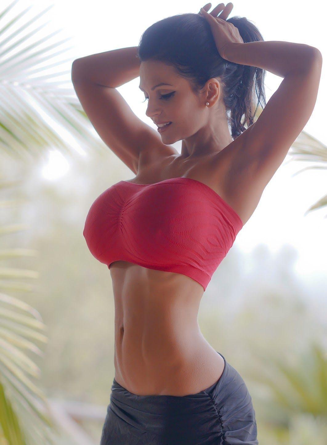 big boobs Fitness Model