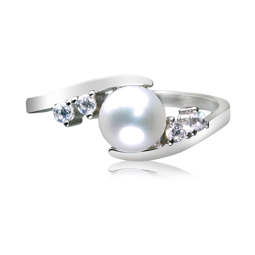 b0058488f8ae30 Warren James Naomi Real Sterling Silver Cultured Freshwater Pearl Ring  Product code   SRNG198