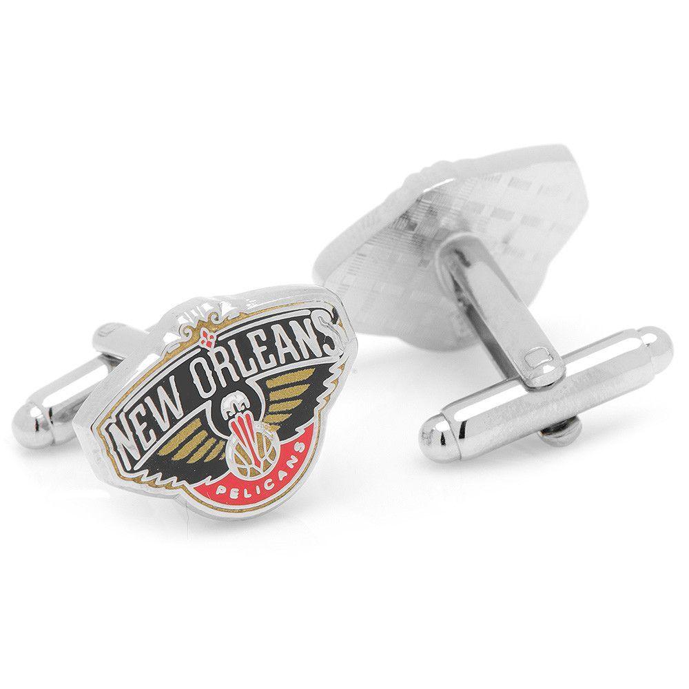 New Orleans Pelicans NBA Logod Executive Cufflinks w/Jewelry Box