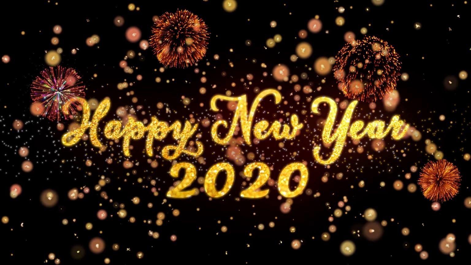 Wishing you love health and wealth Happy new year