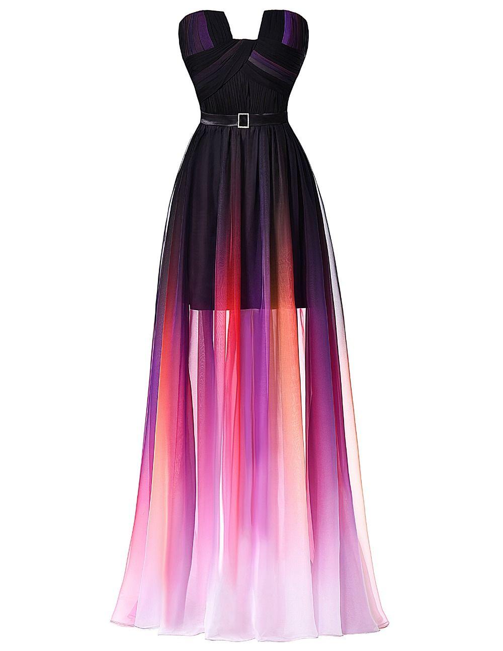 font-b-Ombre-b-font-Prom-Dress-Grace-Karin-Ballkleider-Brand-Fashion ...