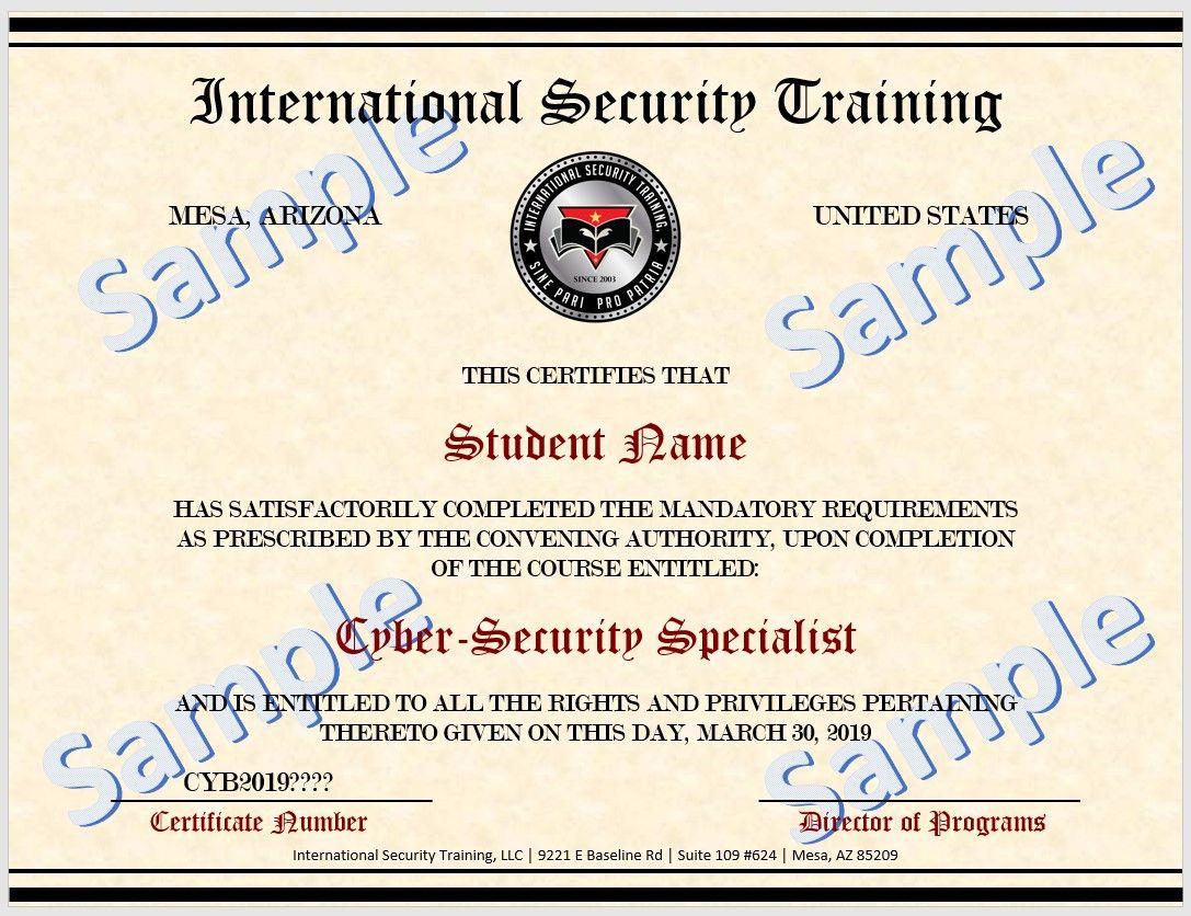 bsis guard card classes