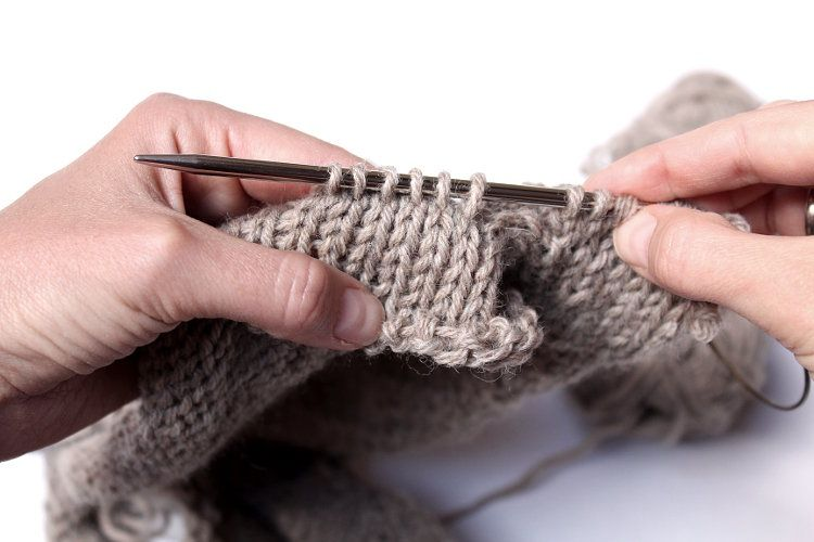 How To Pick Up Stitches for the Raglan Sleeve and Avoid