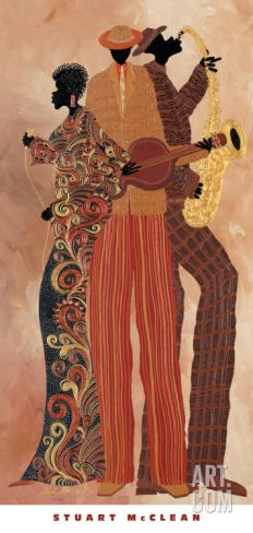 Down to the Bass Art Print by Stuart McClean at Art.com