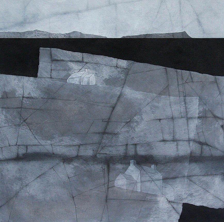 B-sides: Chris Wilson(British, b.1959) Coast IV Acrylic...
