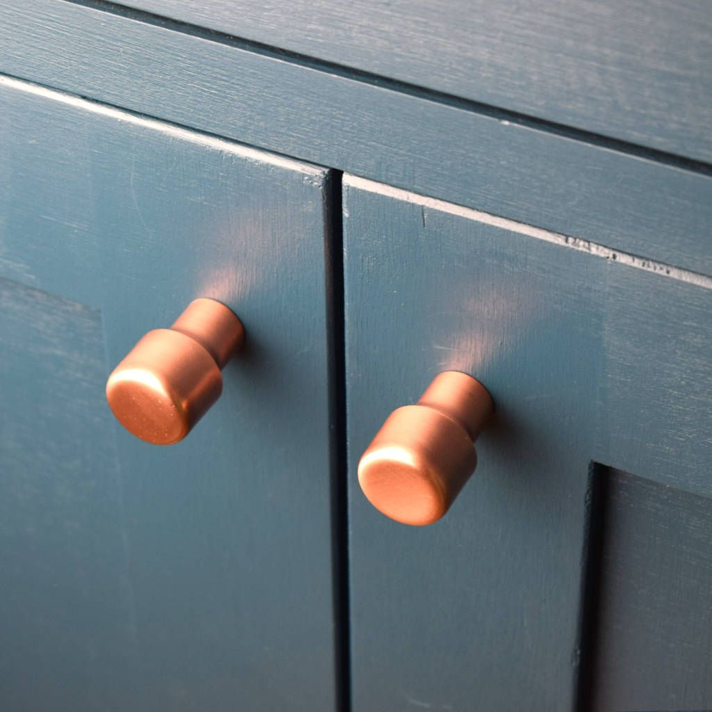 Raised Copper Knob | Raising, Cabinet hardware and Hardware