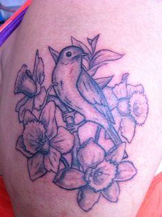 Daffodil Tattoos Google Search Daffodil Tattoo Tattoos Inspirational Tattoos