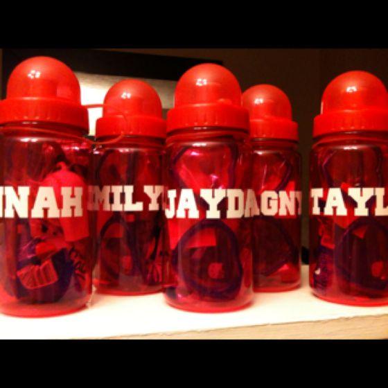 Party Favors - Sneak Peak -- $1 Water bottles from Michaels