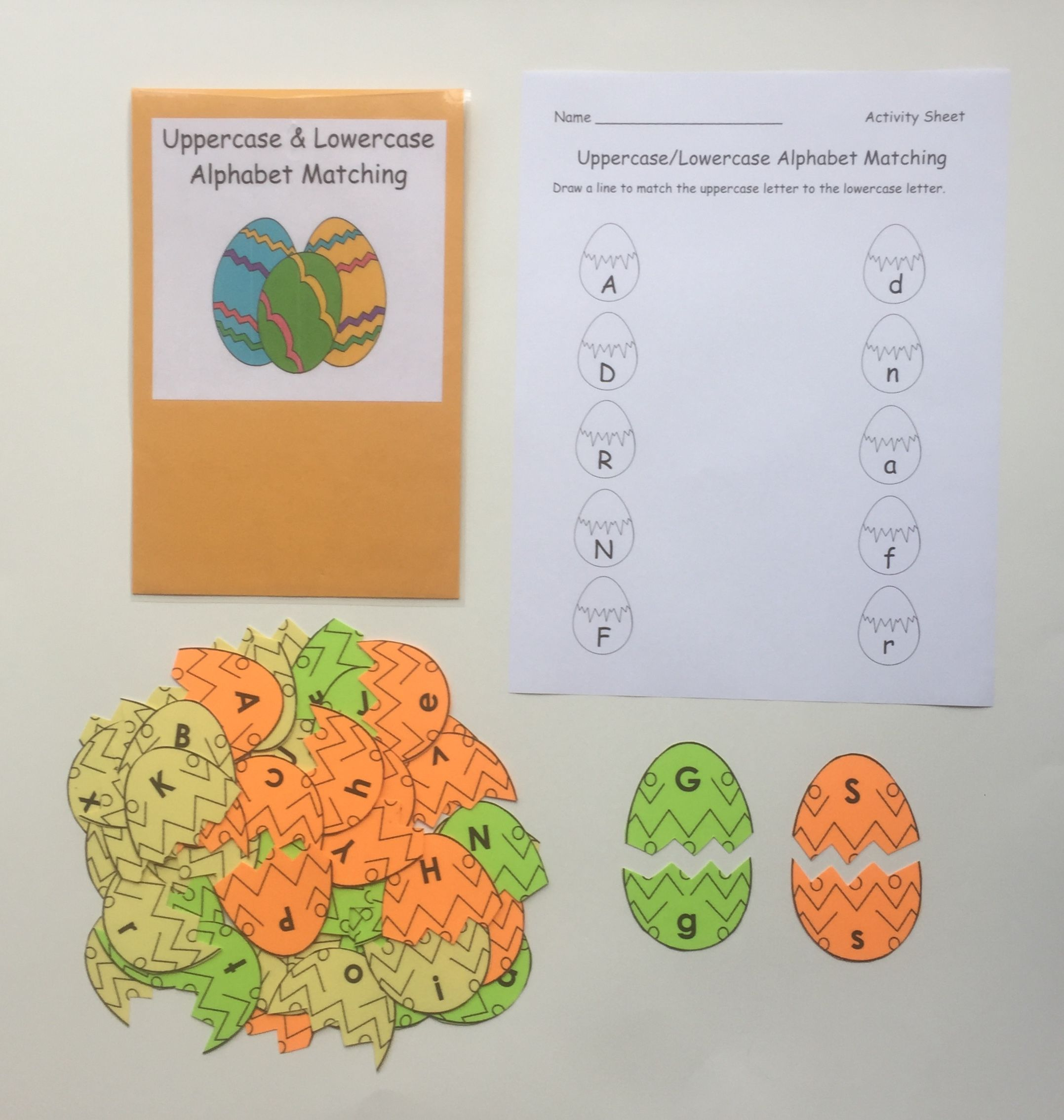 Alphabet Letter Matching Help Students Practice And