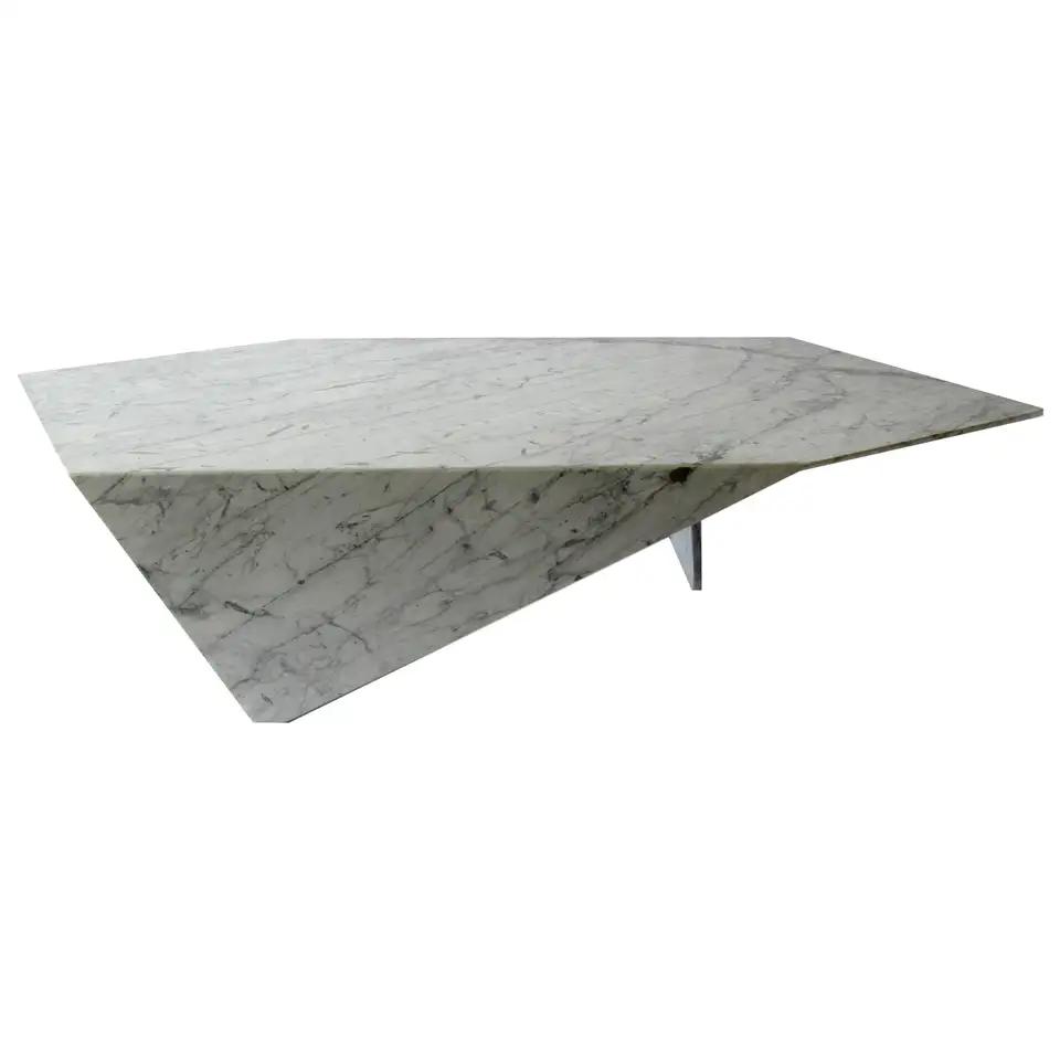 Italian Modern Carrara Marble Coffee Table Minotti Coffee Table Marble Coffee Table Table [ 960 x 960 Pixel ]
