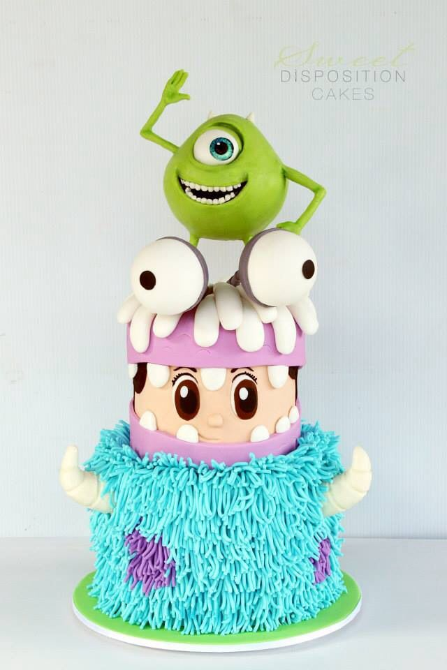 Monsters Inc Cake For all your cake decorating supplies please