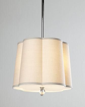 Lovely 4C0S Regina Andrew Design Scalloped Shade 2 Light Pendant Scalloped Shade Pictures - Contemporary 2 light pendant fixture Style