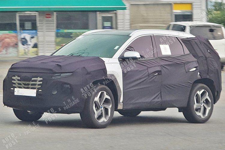 India Bound Next Gen 2020 Hyundai Tucson Spied Once Again Hyundai Tucson Hyundai Hyundai Genesis