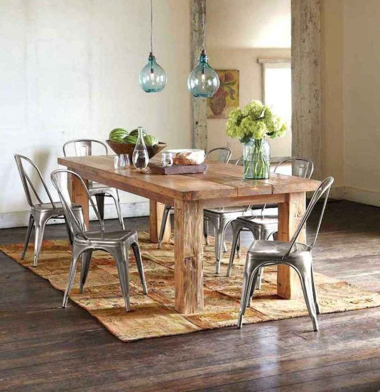 12 Rustic Dining Room Ideas: 50+ Rustic Farmhouse Dining Room Table Decor Ideas And